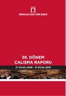 Mimarlar Odası İzmir Şubesi 39. Dönem Çalışma Raporu