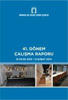 Mimarlar Odası İzmir Şubesi 41. Dönem Çalışma Raporu