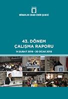 Mimarlar Odası İzmir Şubesi 43. Dönem Çalışma Raporu