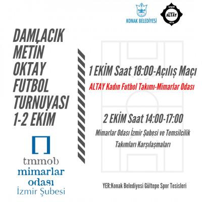 Mimarlar Odası Damlacık Metin Oktay Futbol Turnuvası'nda!