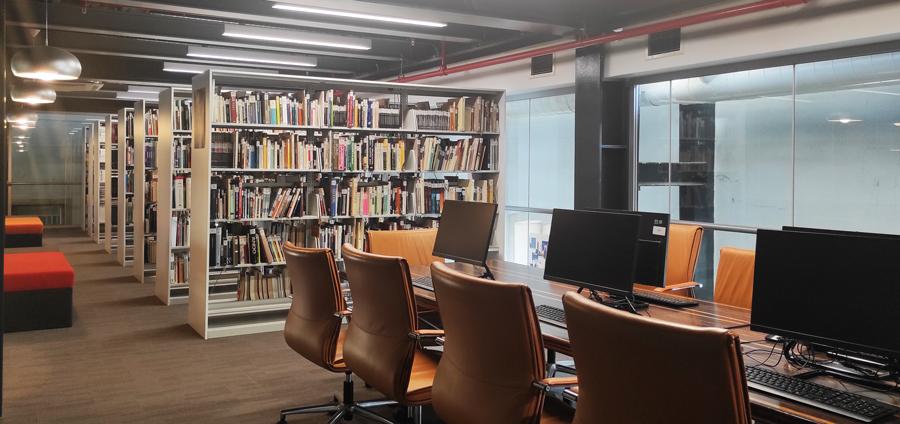 Mimarlar Odası İzmir Şubesi Kütüphane