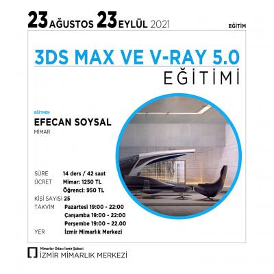 3DS MAX VE V-RAY 5.0 EĞİTİMİ